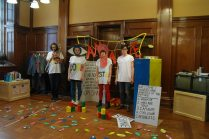 I Am Alive, Bounce & Rhyme Session ,Art Lending Library at Mitchell Library,Glasgow, April 2012